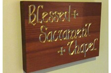 - Image360-Marlton-NJ-Plaque-Blessed-Sacrament